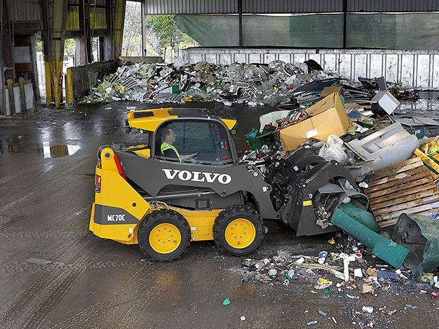 Volvo Introduces C Series Skid Steer Loaders Into Europe