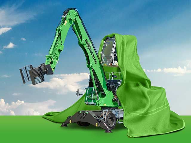 Sennebogen launches new compact material handler for waste management