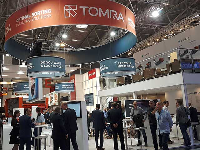TOMRA Sorting Recycling reports increased interest in sorting technologies at IFAT 2018