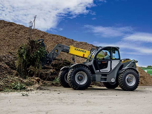 Kramer relies on state-of-the-art technology for telehandlers up to 9 m stacking height