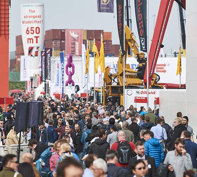 Record bauma attracts more than 620,000 visitors