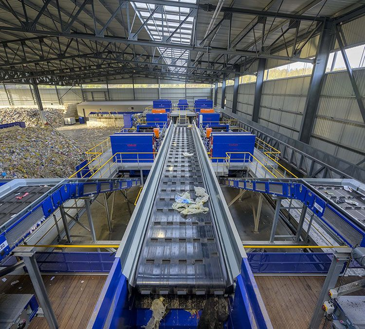 STADLER delivers a future-proofed, flexible sorting plant for the Schroll Group