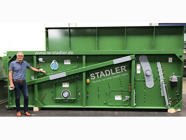 STADLER celebrates history of pioneering innovation  with milestone of 1,000th ballistic separator