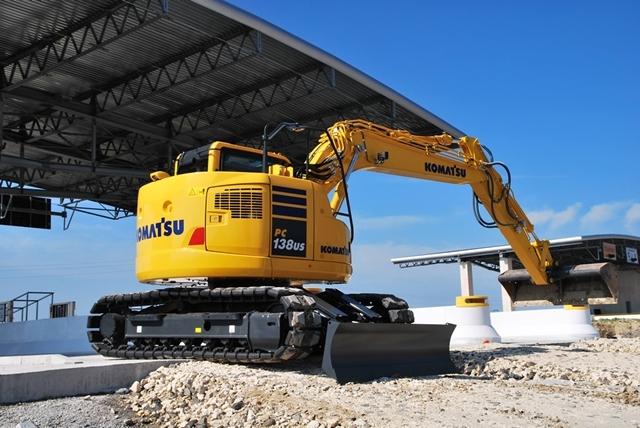 PC138US-10: A New Addition to the Komatsu Dash-10 Excavator