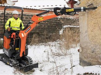 Doosan Launches New DX10Z Mini-Excavator