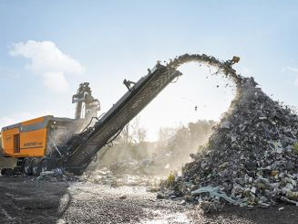 Doppstadt showcases the INVENTHOR Type 9 shredder at IFAT