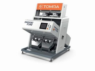 TOMRA Sorting Recycling launches INNOSORT FLAKE featuring dual-sensor sorting capability