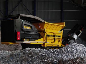 New TANA 440DTeco shredder