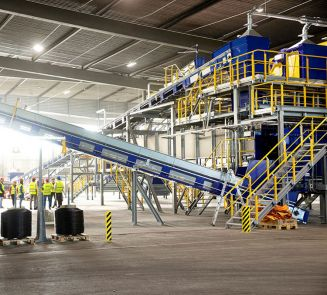 STADLER and TOMRA deliver the world's first fully automated textile sorting plant  in Malmö, Sweden